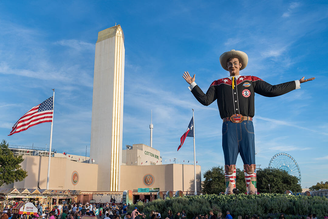 Big Tex of the Texas State Fair