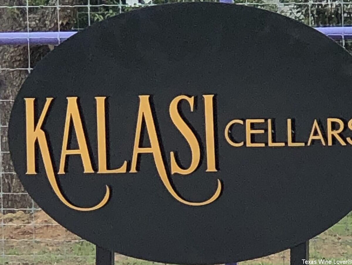 Kalasi Cellars sign