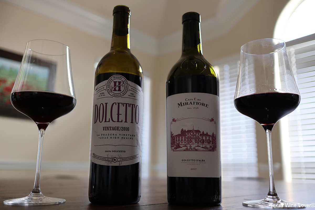 Dolcetto wines