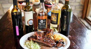 Texas Fine Wines with Salt Lick BBQ
