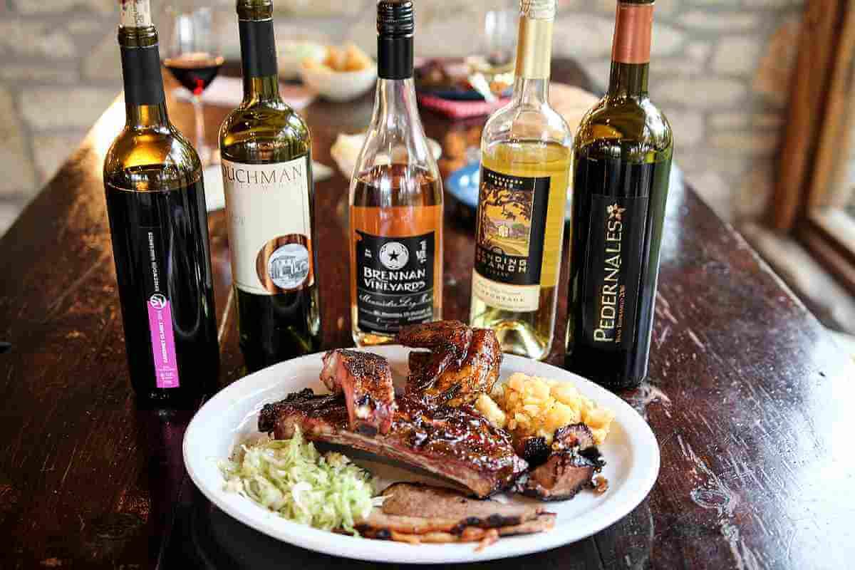 Texas Fine Wines with Salt Lick BBQ