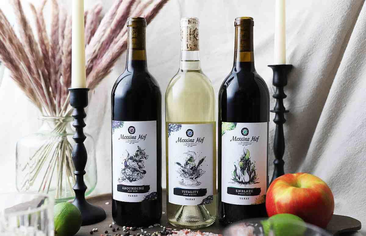 Messina Hof interactive wine labels