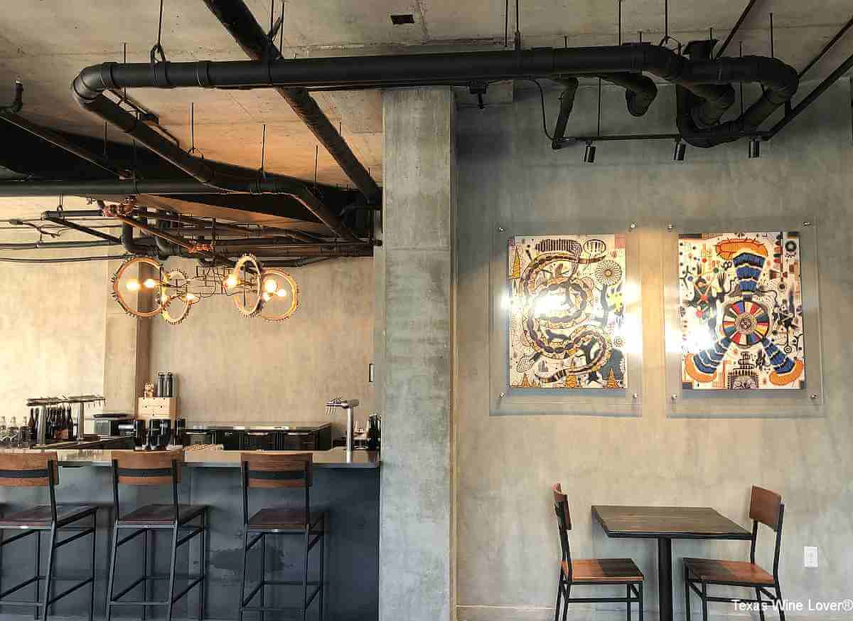 Re:Rooted 210 Urban Winery tasting room