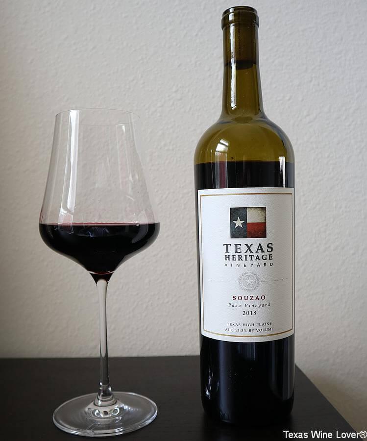 Texas Heritage Vineyard Souzao