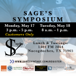 2021 Sage's Symposium Preview