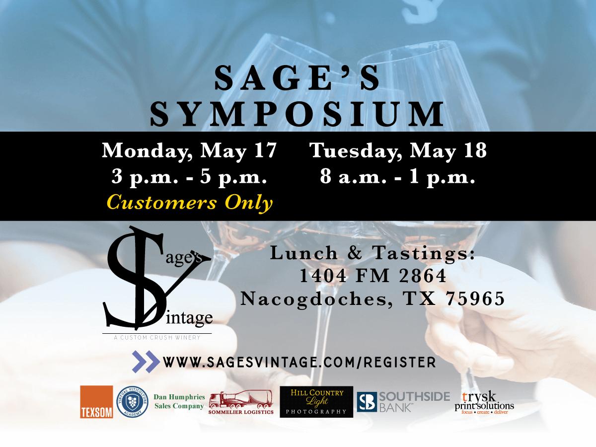 Sage's Vintage Symposium 2021