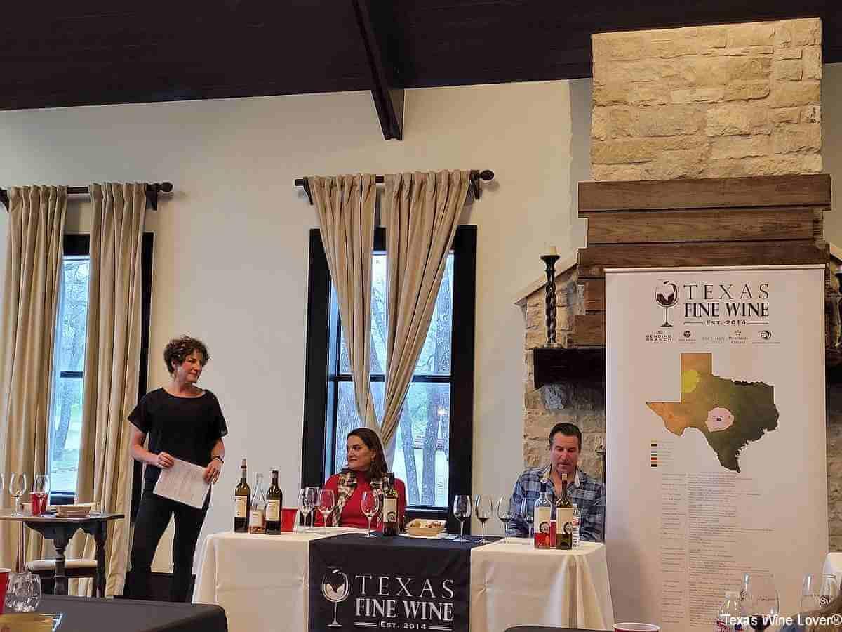Texas Fine Wine panel