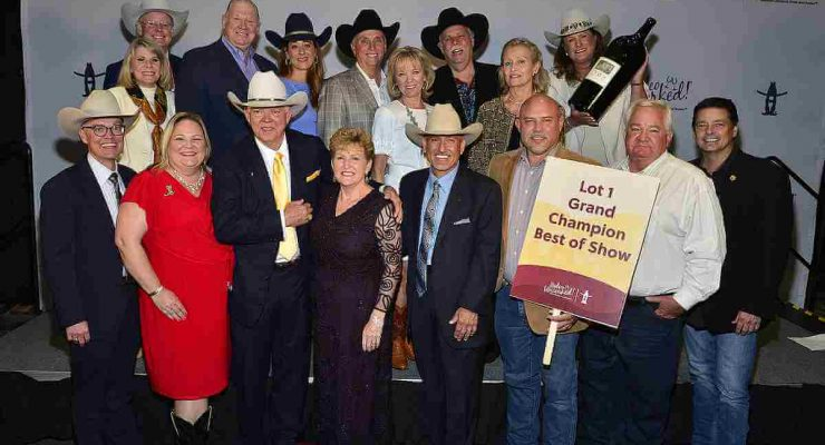 Lot 1 2021 Grand Champion Wine Buyers